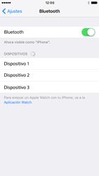 Apple iPhone 6 iOS 10 - Connection - Conectar dispositivos a través de Bluetooth - Paso 5