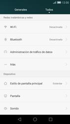 Huawei Ascend G7 - WiFi - Conectarse a una red WiFi - Paso 4