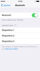 Apple iPhone SE - iOS 10 - Connection - Conectar dispositivos a través de Bluetooth - Paso 5