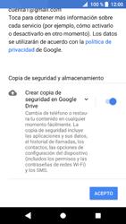 Sony Xperia XZ1 - E-mail - Configurar Gmail - Paso 14