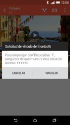HTC One M8 - Connection - Transferir archivos a través de Bluetooth - Paso 13