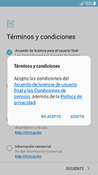 Samsung Galaxy J5 (2017) - Primeros pasos - Activar el equipo - Paso 9