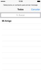 Apple iPhone 5s - MMS - Escribir y enviar un mensaje multimedia - Paso 5