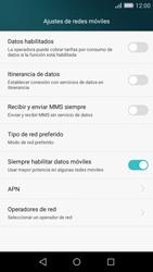 Huawei P8 Lite - Internet - Activar o desactivar la conexión de datos - Paso 6