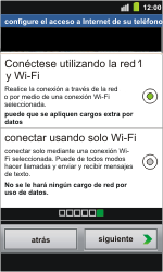 Samsung I8160 Galaxy Ace II - Primeros pasos - Activar el equipo - Paso 10