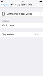 Apple iPhone 6s iOS 11 - E-mail - Configurar Yahoo! - Paso 4