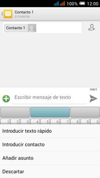 Alcatel Pop C9 - MMS - Escribir y enviar un mensaje multimedia - Paso 10