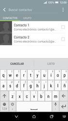 HTC One A9 - E-mail - Escribir y enviar un correo electrónico - Paso 6