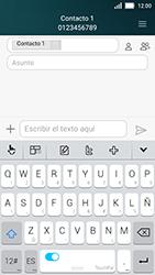 Huawei Y5 - MMS - Escribir y enviar un mensaje multimedia - Paso 9