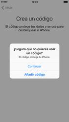 Apple iPhone 6s iOS 10 - Primeros pasos - Activar el equipo - Paso 15
