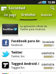 Samsung S5570 Galaxy Mini - Aplicaciones - Descargar aplicaciones - Paso 11