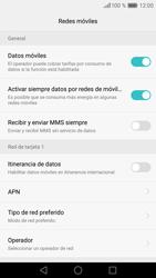 Huawei P9 Lite - MMS - Configurar el equipo para mensajes multimedia - Paso 6