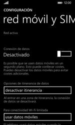 Nokia Lumia 635 - Internet - Activar o desactivar la conexión de datos - Paso 6