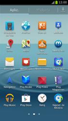 Samsung I9300 Galaxy S III - MMS - Configurar el equipo para mensajes de texto - Paso 3