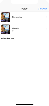Apple iPhone X - MMS - Escribir y enviar un mensaje multimedia - Paso 12
