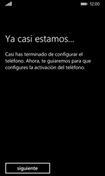 Nokia Lumia 635 - Primeros pasos - Activar el equipo - Paso 23