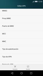 Huawei P8 Lite - MMS - Configurar el equipo para mensajes multimedia - Paso 12