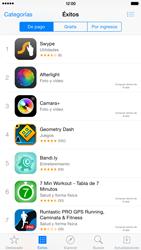 Apple iPhone 6 Plus iOS 8 - Aplicaciones - Tienda de aplicaciones - Paso 5