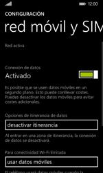 Nokia Lumia 635 - Internet - Activar o desactivar la conexión de datos - Paso 5