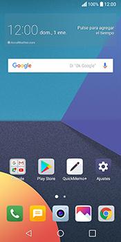 LG Q6 - WiFi - Conectarse a una red WiFi - Paso 1