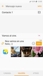 Samsung Galaxy S7 - MMS - Escribir y enviar un mensaje multimedia - Paso 18