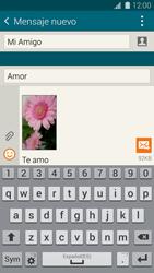 Samsung G900F Galaxy S5 - MMS - Escribir y enviar un mensaje multimedia - Paso 19
