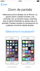 Apple iPhone 6 iOS 8 - Primeros pasos - Activar el equipo - Paso 21