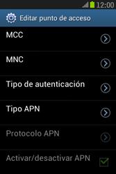 Samsung S6310 Galaxy Young - Internet - Configurar Internet - Paso 13