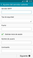 Samsung A500FU Galaxy A5 - E-mail - Configurar correo electrónico - Paso 12
