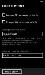 Nokia Lumia 635 - E-mail - Configurar correo electrónico - Paso 19
