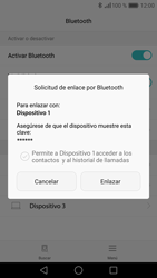 Huawei P9 - Connection - Conectar dispositivos a través de Bluetooth - Paso 7