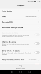 Huawei P9 - MMS - Configurar el equipo para mensajes de texto - Paso 9