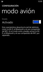 Nokia Lumia 520 - Red - Activar o desactivar el modo avión - Paso 6