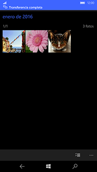 Microsoft Lumia 950 XL - Connection - Transferir archivos a través de Bluetooth - Paso 12