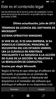 Microsoft Lumia 950 XL - Primeros pasos - Activar el equipo - Paso 9