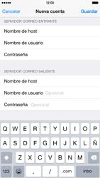 Apple iPhone 6 iOS 8 - E-mail - Configurar correo electrónico - Paso 13