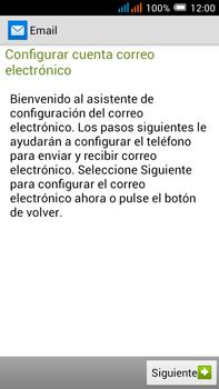 Alcatel Pop C9 - E-mail - Configurar Yahoo! - Paso 4