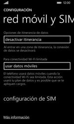 Nokia Lumia 635 - MMS - Configurar el equipo para mensajes multimedia - Paso 5