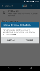 HTC One M9 - Connection - Conectar dispositivos a través de Bluetooth - Paso 7