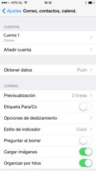 Apple iPhone 6 iOS 8 - E-mail - Configurar correo electrónico - Paso 26