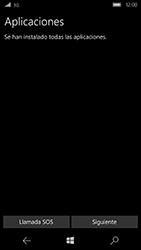 Microsoft Lumia 950 - Primeros pasos - Activar el equipo - Paso 14