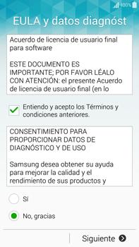 Samsung N910F Galaxy Note 4 - Primeros pasos - Activar el equipo - Paso 6