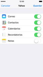 Apple iPhone SE - iOS 10 - E-mail - Configurar Yahoo! - Paso 8