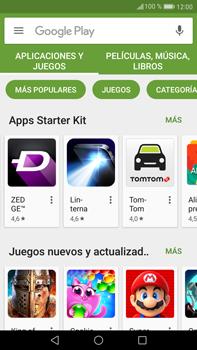 Huawei Mate 9 - Aplicaciones - Descargar aplicaciones - Paso 4