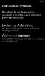 Nokia Lumia 520 - E-mail - Configurar correo electrónico - Paso 9