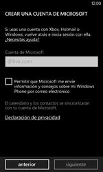 Nokia Lumia 520 - Primeros pasos - Activar el equipo - Paso 17