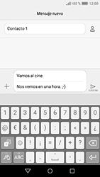 Huawei Y6 (2017) - MMS - Escribir y enviar un mensaje multimedia - Paso 12
