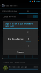 Wiko Stairway - Internet - Ver uso de datos - Paso 8