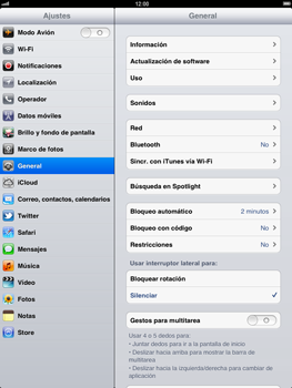 Apple iPad 2 - Internet - Ver uso de datos - Paso 3