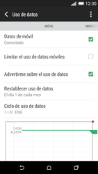HTC One M8 - Internet - Ver uso de datos - Paso 8
